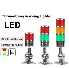 Multilayer Stack Light Led Signal Tower Caution Dc 12v 24v Ac Machinery Lamps