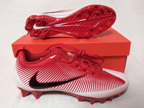 Nike Vapor Strike 5 TD Football Cleats Mens Size 10 Red White Black  833407 601