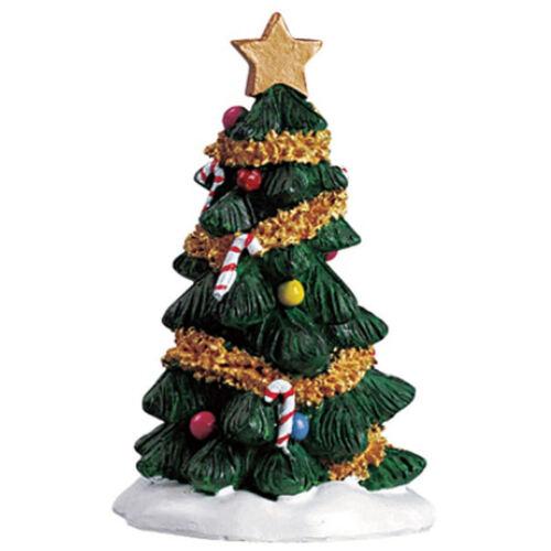 LEMAX Décorations Arbre de Noël Décoration Craft Miniature Village Noël Toppers