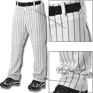 Alleson-Youth-Boys-Relaxed-Fit-Open-Bottom-Pinstripe-Baseball-Pants-605WPNY