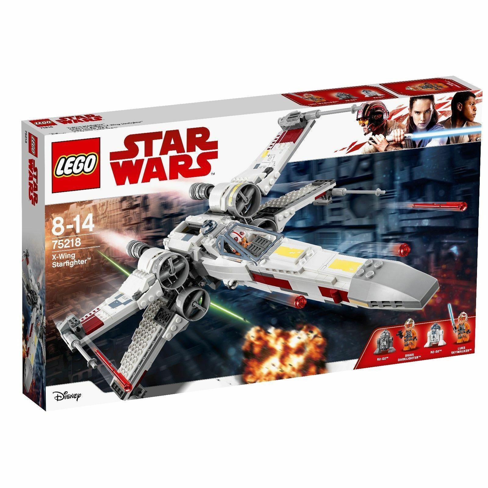 LEGO estrella guerras  75218 X-WING estrellaFIGHTER  NUOVO-nuovo- SIGILLATO  risparmia fino al 50%