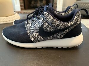 low priced 70fde 9c5df Details about Nike Roshe One Limited Winter Edition. Mens Size 13.  Navy/White
