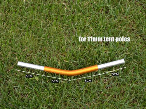 New 4pcs Aluminium Alloy Connector 150 degree Angled Pole for 11mm Tent Poles