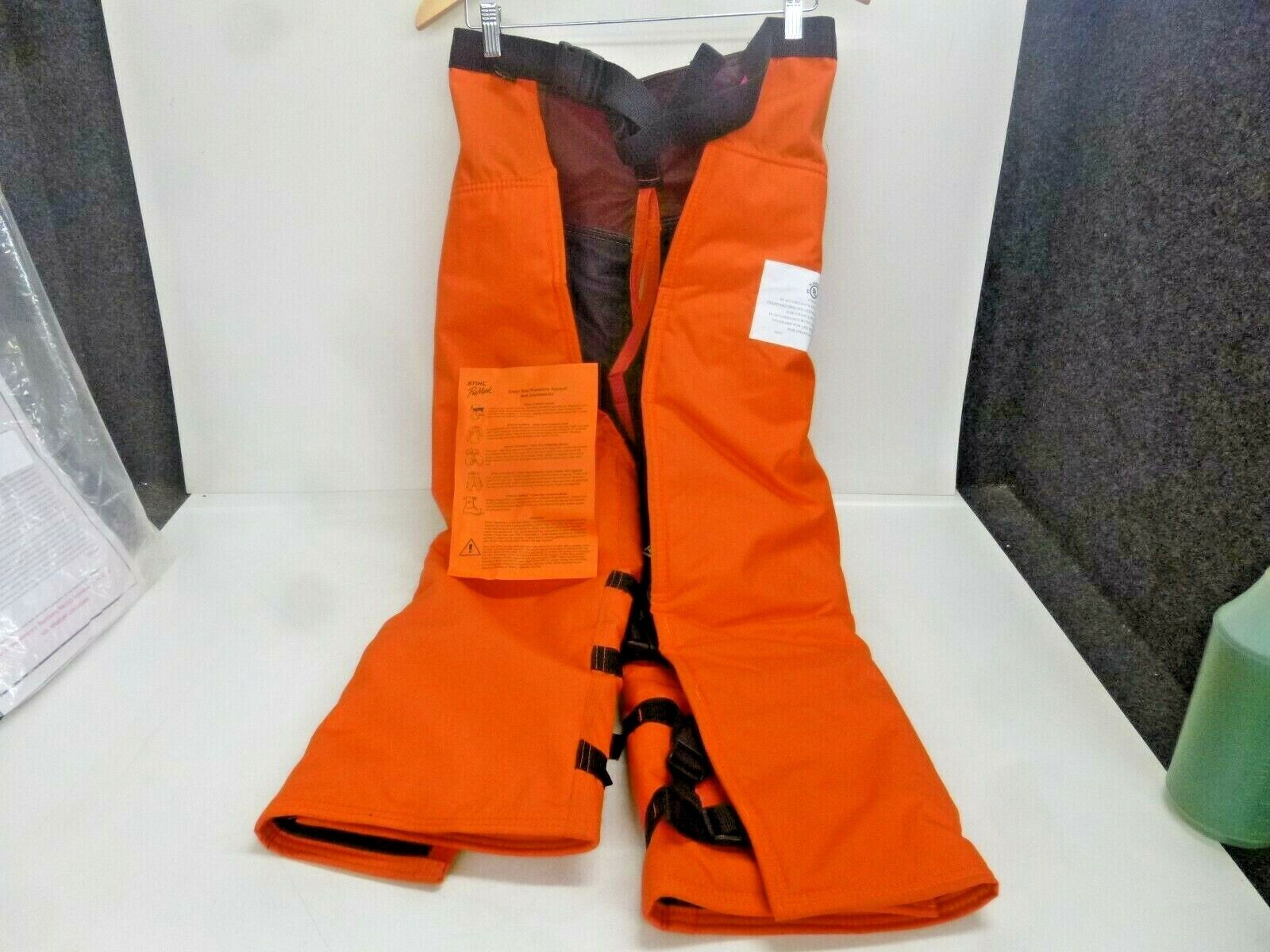 NEW  GRAND FOREST, Chain Saw Predective Wrap Chaps, 36  LENGTH 30 -42  WAIST
