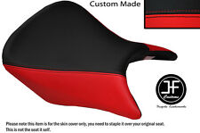 RED AND BLACK VINYL CUSTOM FITS HONDA CB 500 13-14 FRONT SEAT COVER ONLY