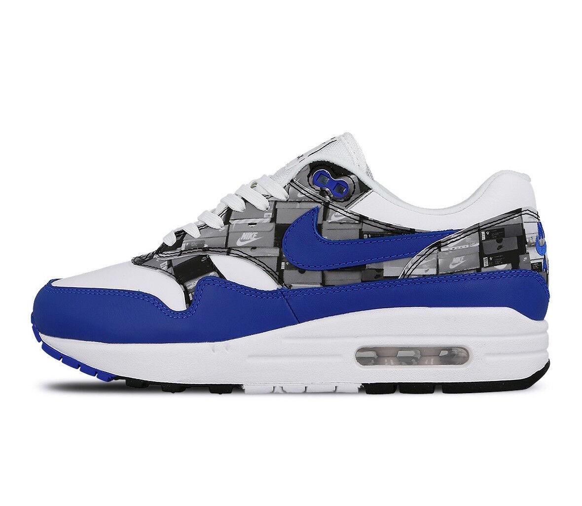 Uomo Nike Air Max 1 1 1 X Atmos Print  We Love Nike  Athletic Fashion AQ0927 100 d1b917