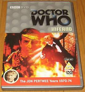 Doctor-Who-DVD-Inferno-Excellent-Condition