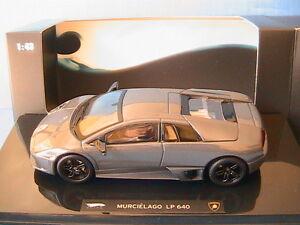 LAMBORGHINI-MURCIELAGO-LP640-V12-2007-GREY-HOTWHEELS-ELITE-P4883-1-43-MATTEL