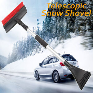 New Snow Shovel Brush Telescopic Ice Scraper Snow Remover