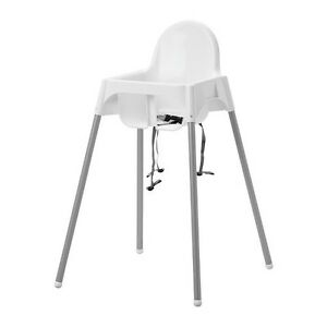 Image Is Loading NEW IKEA High Chair W Safety Belt Antilop