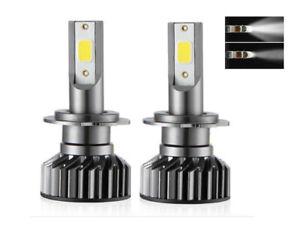 Kit-ampoule-LED-H7-COB-8000K-12-24-Volt-phare-anti-erreur-OBD-Canbus-integre
