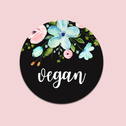 "Geschenkaufkleber Aufkleber vegan 25 Sticker /""vegan/"""