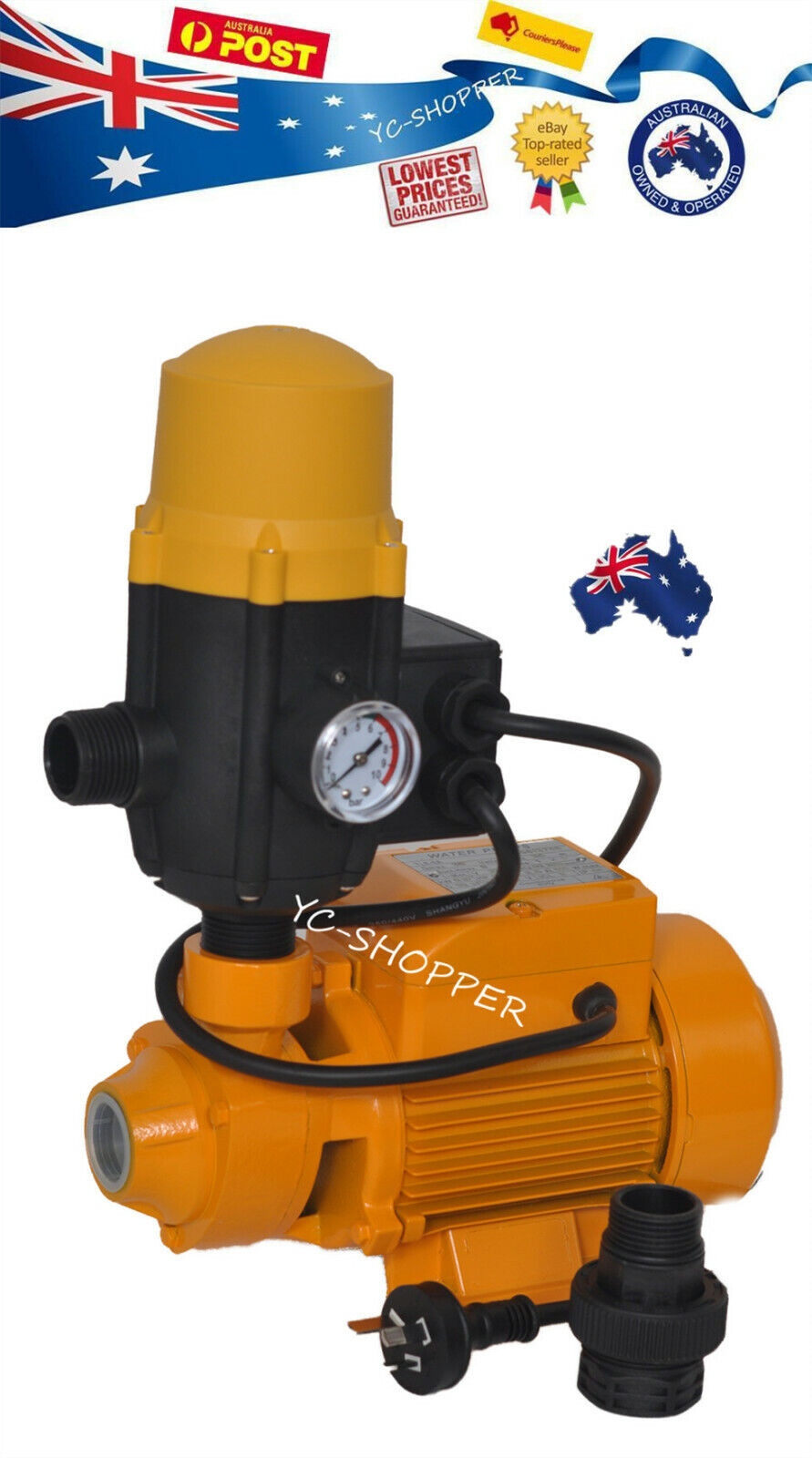 Small Household Rain Water Tank Pressure Pump