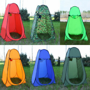 reputable site d93fd 8152e Details about Automatic Folding Portable Camping Shower Tent Pop up  Portable Room Beach Toilet