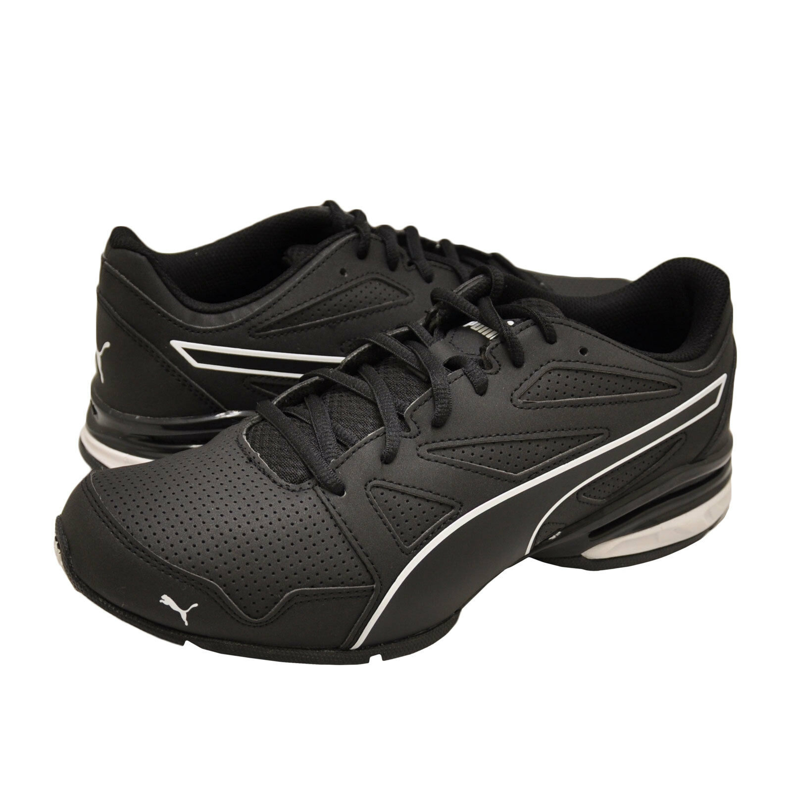 hommes Chaussures PUMA Tazon Modern SL FM Sneaker 190296-12 noir / blanc New