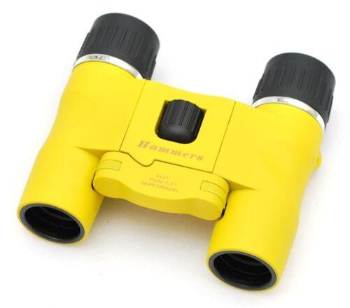 Hammers Lightweight Sport Compact Small Travel Binocular 8X21 Marine Yellow