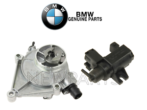 Details about For BMW F10 F25 F30 E84 Brake Booster Vacuum Pump & Turbo  Boost Solenoid Genuine