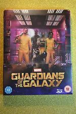 Guardians of the Galaxy Steelbook 3D Bluray Lenticular  Zavvi Edition New+Sealed