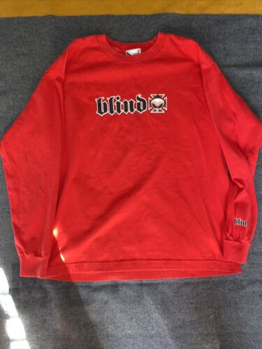 Vintage Blind Skateboards Tee Shirt 2000s Youth XL