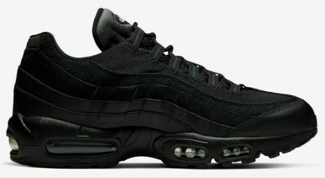 Size 6.5 - Nike Air Max 95 Essential Triple Black for sale online ...