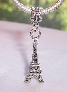 Eiffel-Tower-Paris-France-Landmark-Travel-Dangle-Charm-for-European-Bracelets