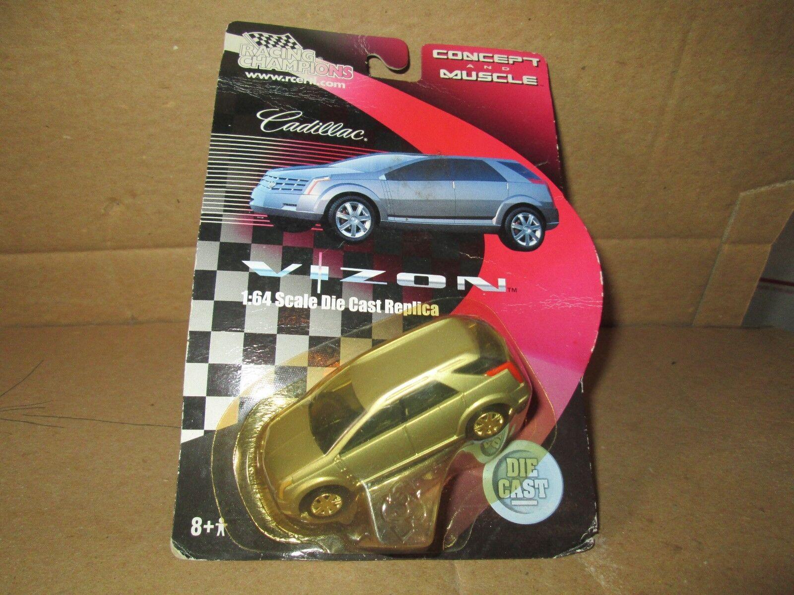 1 64 Cadillac Vizon Sport Utility Vehicle Racing Champions Radio Control Ertl Plata Sport Utility