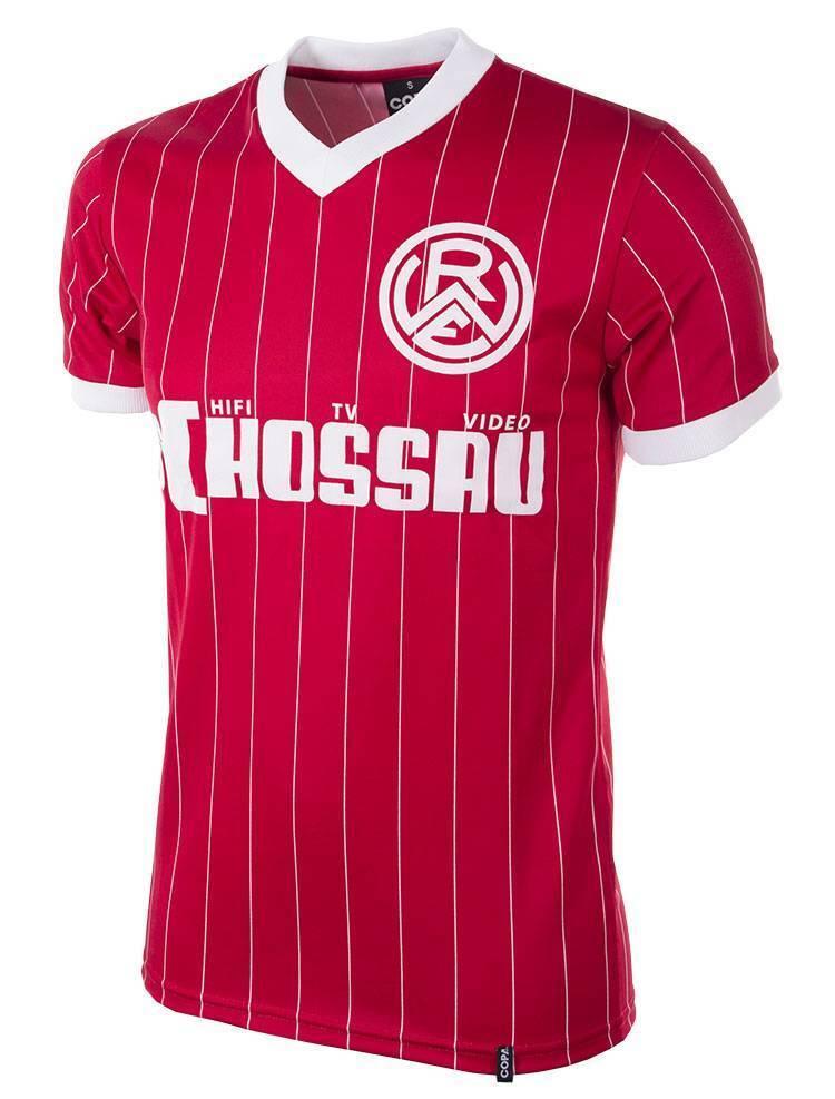 Copa Rot Weiss Essen Retro Trikot 1984 85 Kurzarm NEU 67070