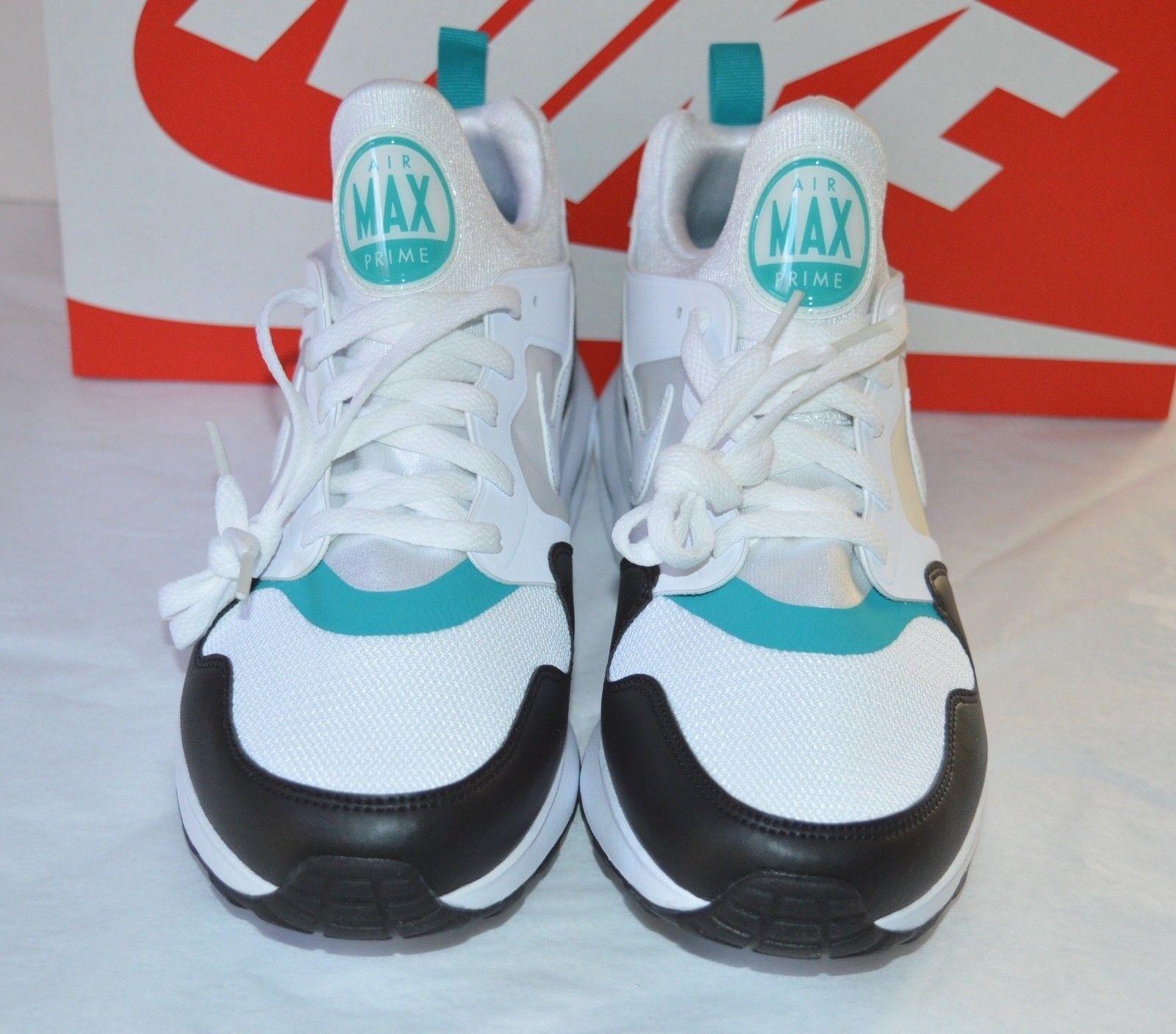 New DS Nike Air Max Prime White/Turbo Green/Black Retro Rare sz 10