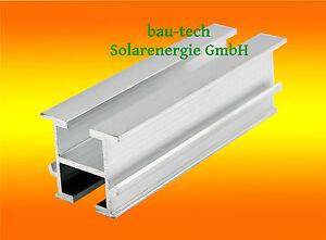 4m Montageprofil 33 X 38mm Alu Photovoltaik Solar Profil Schiene