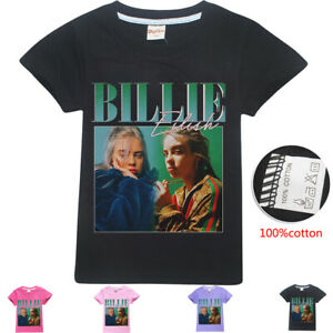 Youth Kids Childrens Billie Joe Armstrong Green Day T-shirt Age 5-13 Years