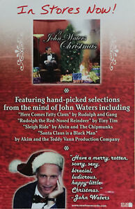 John Waters Christmas.Details About John Waters Christmas Poster New Promo Only
