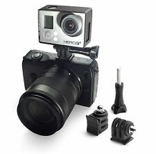 DSLR Hot Shoe Adapter Mount For Gopro GO PRO HD Hero 1,2,3,3+,4,5 Accessories