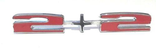 Pontiac Grand Prix 2+2 emblem 1966 1967 DISCOUNT MARKDOWN