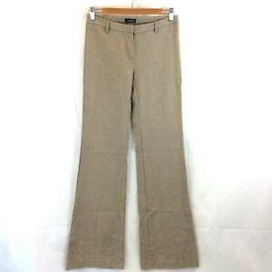 KOOKAI-Vintage-Label-Size-38-Wool-Cotton-Pants-Zip-Up-Beige-Straight-Leg-Tweed