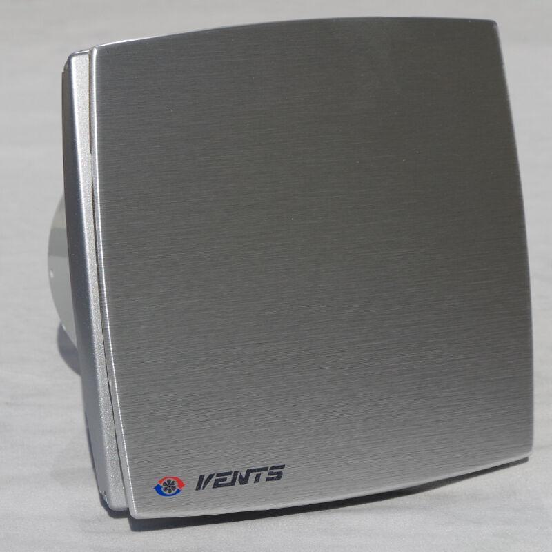 Badlüfter Ventilator Wandlüfter Alu 100 125 150 Abluft Timer Feuchtesensor vLDA