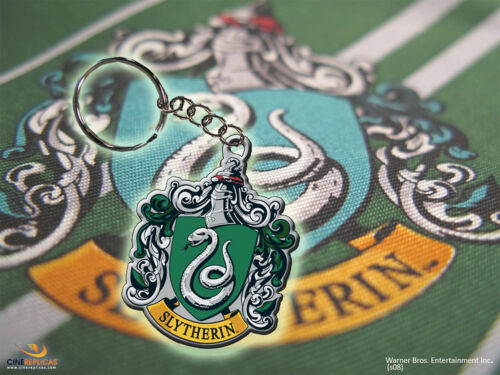 Harry Potter porte clé Serpentard porte-clé officiel maison Slytherin Crest 0851
