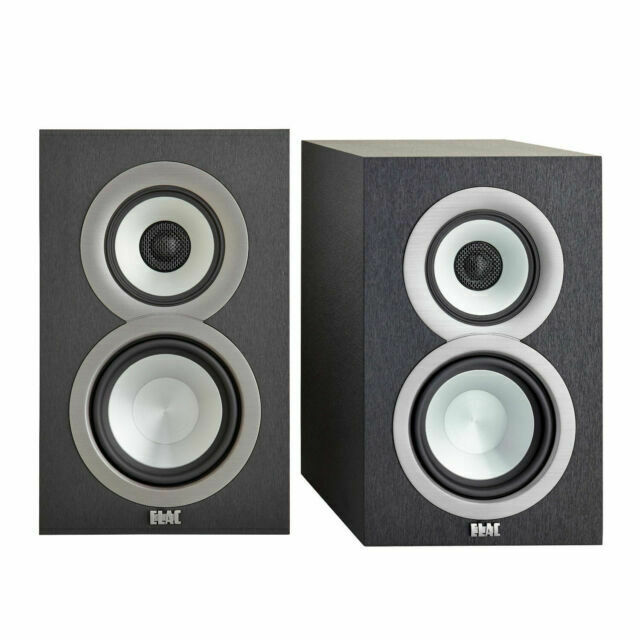 ELAC Uni-Fi UB9 9-Way Bookshelf Speakers (Pair) - Black
