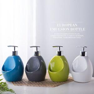 Image Is Loading 2 In 1 Paris Ceramic Soap Dispenser Pump