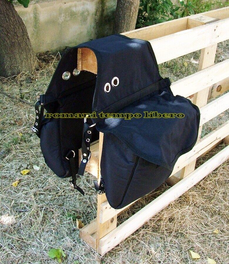Satteltaschen Hinten für Sattel mit Stiefelbeutel Abgefedert