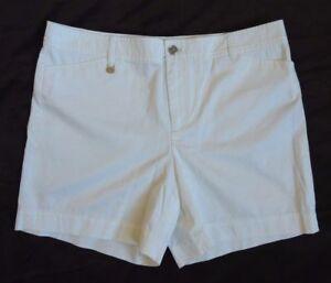 89-5-Ralph-Lauren-Logo-Twill-Chino-Beach-Golf-Mini-Flat-Shorts-4-6-10-12-14-16