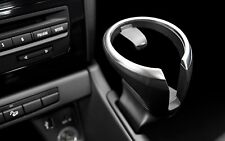 Genuine OEM BMW X1 and 1 Series Cup Holder Insert - 128i 135i Black w/Chrome Top