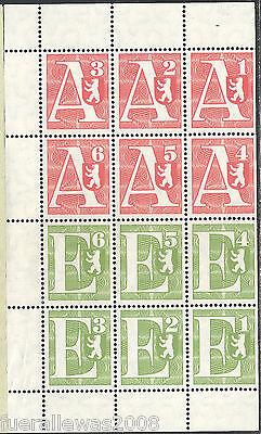 Paketmarken German parcel stamps Berliner Senat Reserve für eine 2. Lufblockade