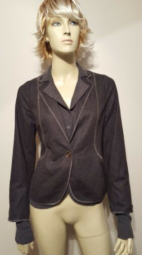 M Gorgeous Cashmere Jacket Emiliano Uld Sz Grey 42 wWO0Wn1qI7