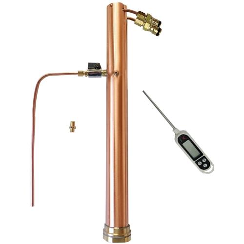 Alcoengine Copper Reflux Still Robobrew,Brewzilla, Digiboil T500,Grainfather 2