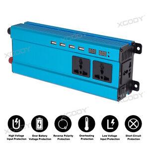 5000W-DC12V-a-AC220V-LED-Numerique-Puissance-Inverter-Onduleur-Convertisseur
