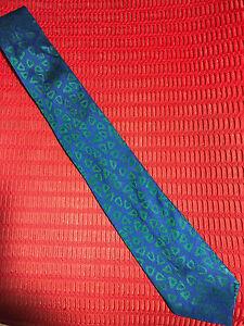 Charvet-Place-Vendome-Blue-Green-Silk-Tie