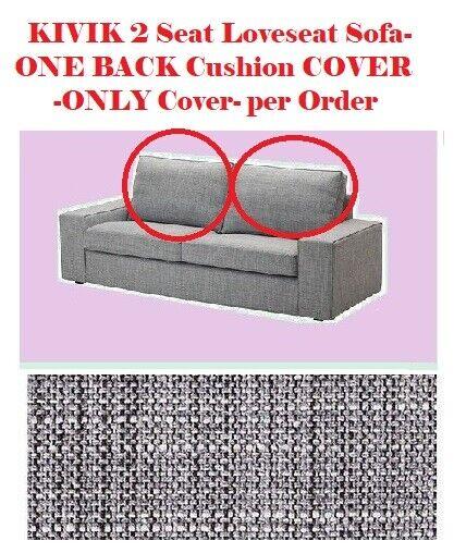 Ikea Kivik Loveseat 2 Seat Sofa Back