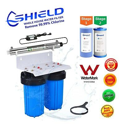 Whole House Water Filter System 10 Quot X 4 5 Quot Ultraviolet Uv