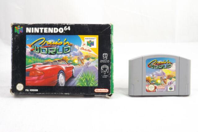 Cruis'n World (Nintendo 64) N64 Rennspiel in OVP, PAL, TOP, GUT