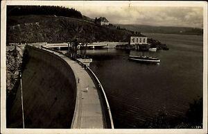 Saalburg-Ebersdorf-Saaletalsperre-1939-ab-KAHLA-Stempel-gelaufen-alte-Postkarte